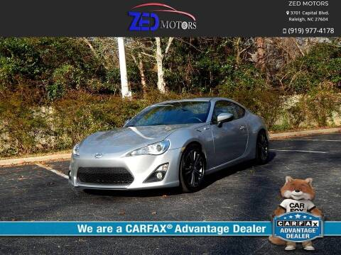2014 Scion FR-S for sale at Zed Motors in Raleigh NC