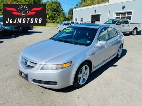 2004 Acura TL for sale at J & J MOTORS in New Milford CT