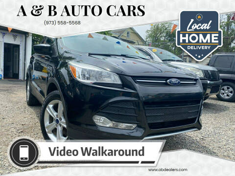 2013 Ford Escape for sale at A & B Auto Cars in Newark NJ