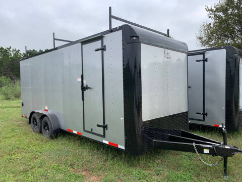 2022 CARGO CRAFT 7X20 RAMP for sale at Trophy Trailers in New Braunfels TX
