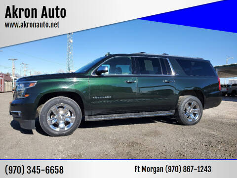 2016 Chevrolet Suburban for sale at Akron Auto in Akron CO