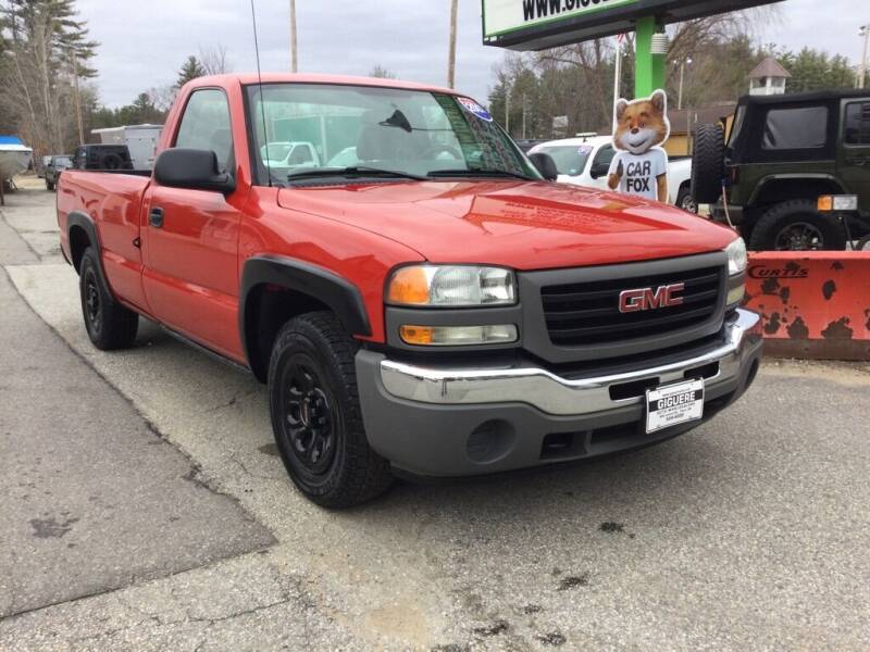 2007 GMC Sierra 1500 for sale at Giguere Auto Wholesalers in Tilton NH