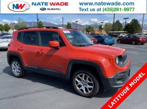 2015 Jeep Renegade for sale at NATE WADE SUBARU in Salt Lake City UT