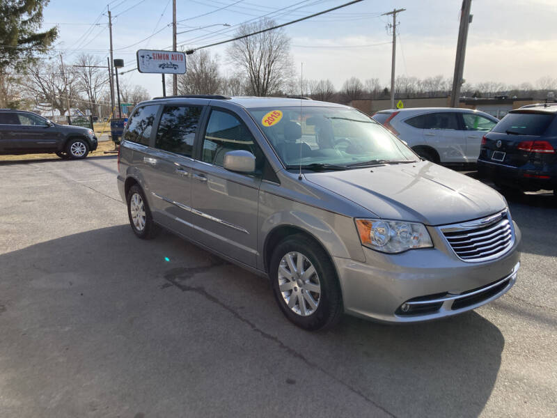 2015 Chrysler Town and Country for sale at JERRY SIMON AUTO SALES in Cambridge NY