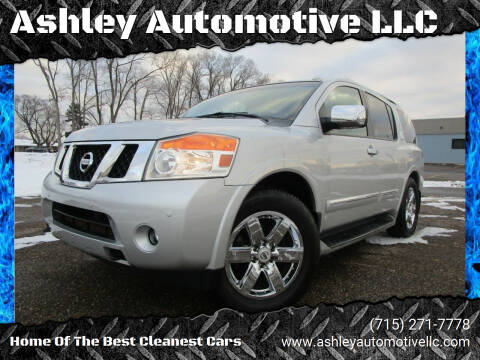 2012 Nissan Armada for sale at Ashley Automotive LLC in Altoona WI