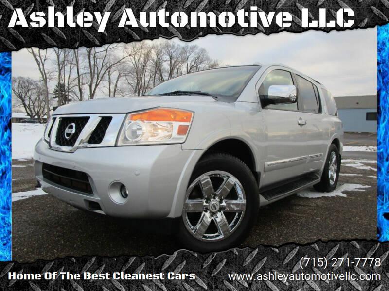 2012 Nissan Armada for sale at Ashley Automotive LLC in Altoona WI