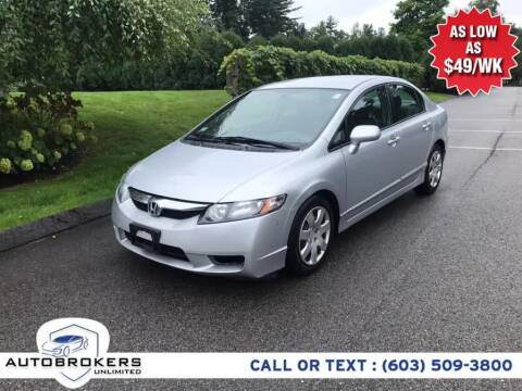 2010 Honda Civic for sale at Auto Brokers Unlimited in Derry NH