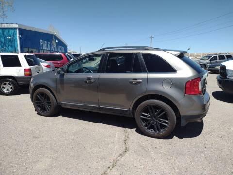 2013 Ford Edge for sale at PYRAMID MOTORS - Pueblo Lot in Pueblo CO