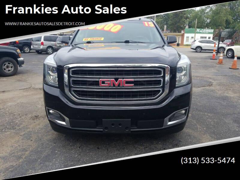 2015 GMC Yukon for sale at Frankies Auto Sales in Detroit MI