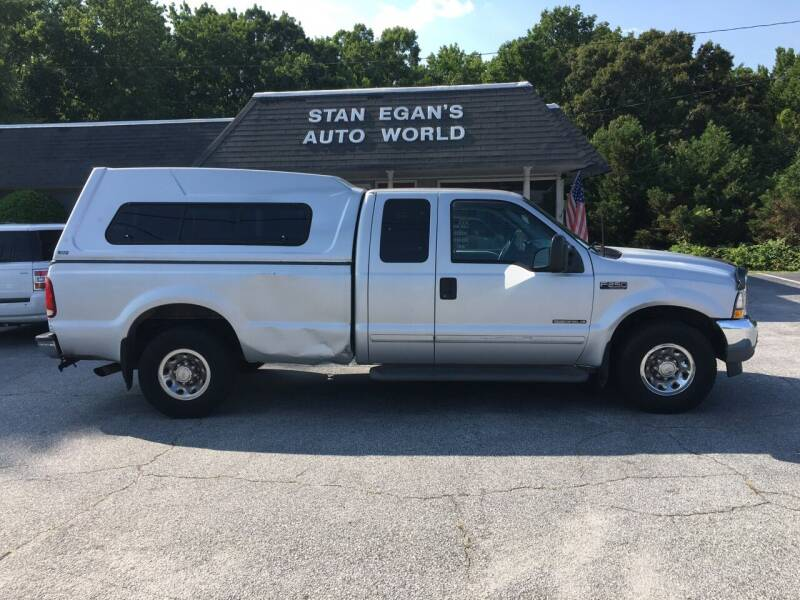2002 Ford F-250 Super Duty for sale at STAN EGAN'S AUTO WORLD, INC. in Greer SC