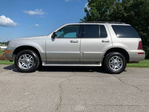 2003 Mercury Mountaineer for sale at Tennessee Valley Wholesale Autos LLC in Huntsville AL