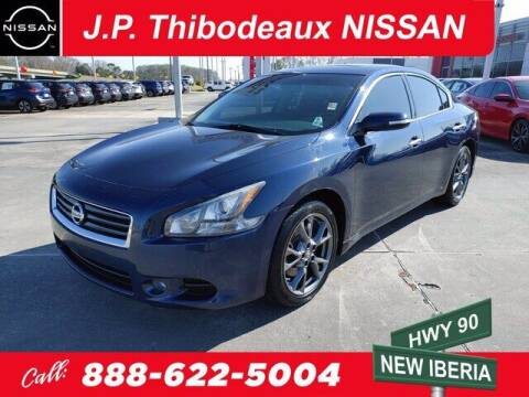 2014 Nissan Maxima for sale at J P Thibodeaux Used Cars in New Iberia LA
