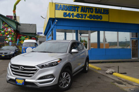 2018 Hyundai Tucson for sale at Earnest Auto Sales in Roseburg OR