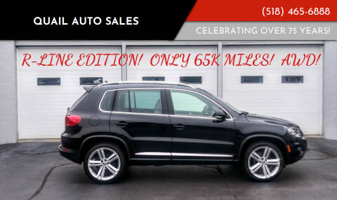 2014 Volkswagen Tiguan for sale at Quail Auto Sales in Albany NY