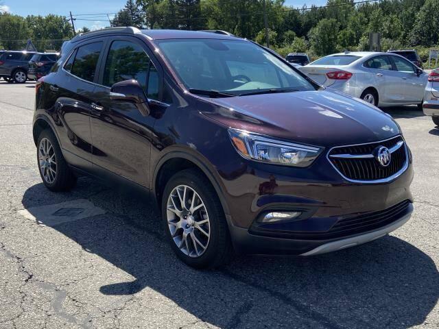 2018 Buick Encore for sale at Miller Auto Sales in Saint Louis MI