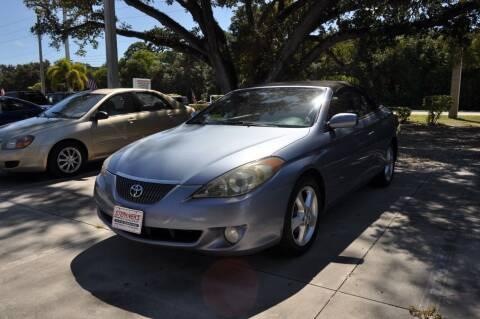 2006 Toyota Camry Solara for sale at STEPANEK'S AUTO SALES & SERVICE INC. in Vero Beach FL