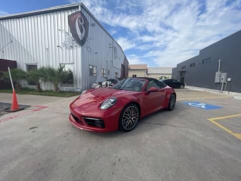 2021 Porsche 911 for sale at Barrett Auto Gallery in San Juan TX