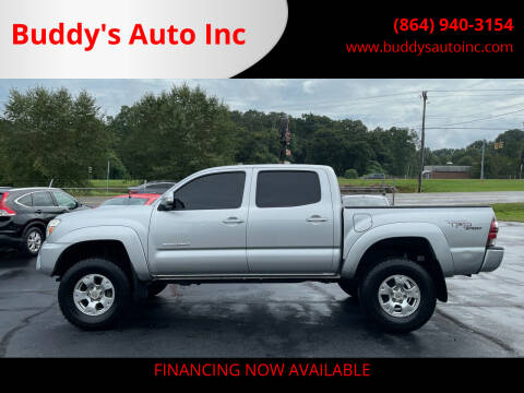 2013 Toyota Tacoma for sale at Buddy's Auto Inc in Pendleton, SC