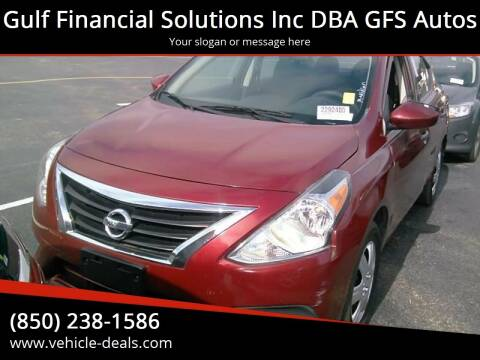2016 Nissan Versa for sale at Gulf Financial Solutions Inc DBA GFS Autos in Panama City Beach FL