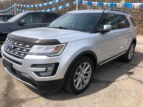 2017 Ford Explorer for sale at Matt Jones Preowned Auto in Wheeling WV