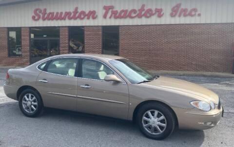 2007 Buick LaCrosse for sale at STAUNTON TRACTOR INC in Staunton VA