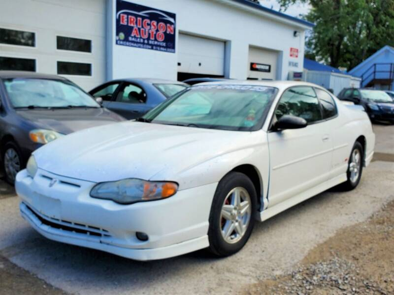 2001 Chevrolet Monte Carlo SS 2dr Coupe - Ankeny IA
