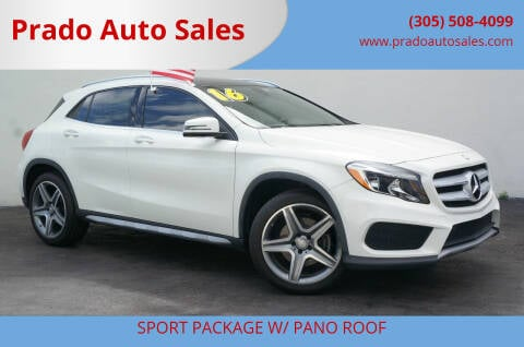 2016 Mercedes-Benz GLA for sale at Prado Auto Sales in Miami FL
