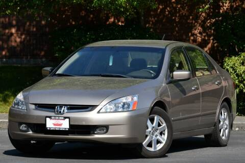 2005 Honda Accord for sale at SEATTLE FINEST MOTORS in Lynnwood WA
