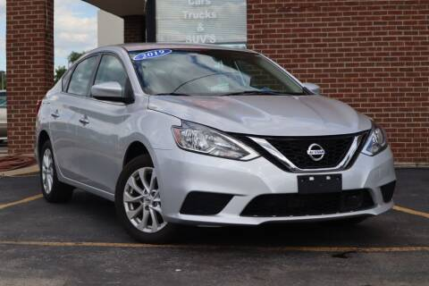 2019 Nissan Sentra for sale at Hobart Auto Sales in Hobart IN