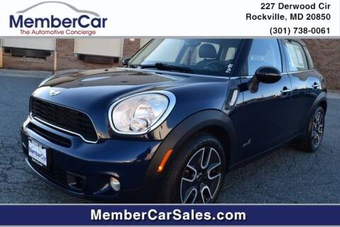 2011 MINI Cooper Countryman for sale at MemberCar in Rockville MD