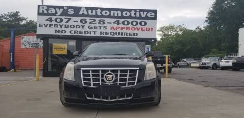 2013 Cadillac CTS for sale at RAYS AUTOMOTIVE SALES & REPAIR INC in Longwood FL