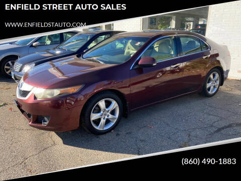 2009 Acura TSX for sale at ENFIELD STREET AUTO SALES in Enfield CT