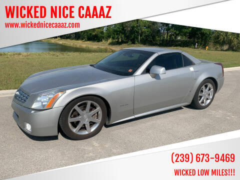 2006 Cadillac XLR for sale at WICKED NICE CAAAZ in Cape Coral FL