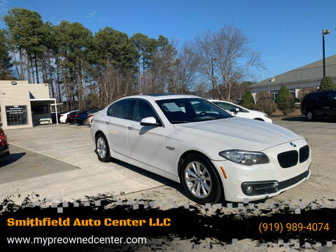 2015 BMW 5 Series for sale at Smithfield Auto Center LLC in Smithfield NC