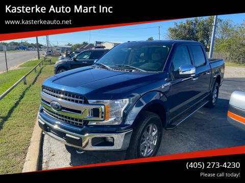 2018 Ford F-150 for sale at Kasterke Auto Mart Inc in Shawnee OK