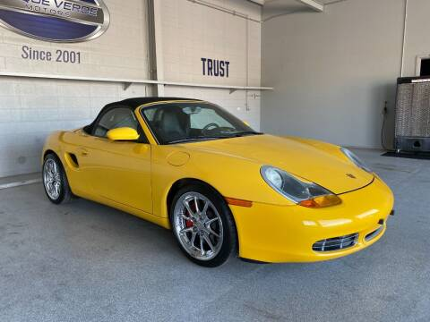 2000 Porsche Boxster for sale at TANQUE VERDE MOTORS in Tucson AZ