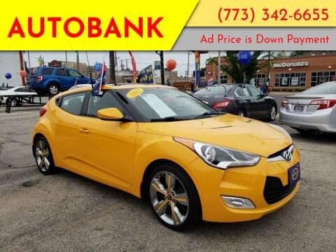 2012 Hyundai Veloster for sale at AutoBank in Chicago IL
