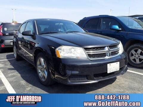 2011 Dodge Avenger for sale at Jeff D'Ambrosio Auto Group in Downingtown PA