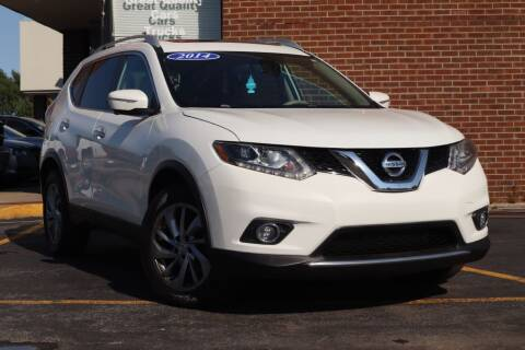 2014 Nissan Rogue for sale at Hobart Auto Sales in Hobart IN