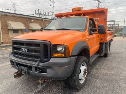 2006 Ford F-450 Super Duty for sale at Quality Auto Sales And Service Inc in Westchester IL