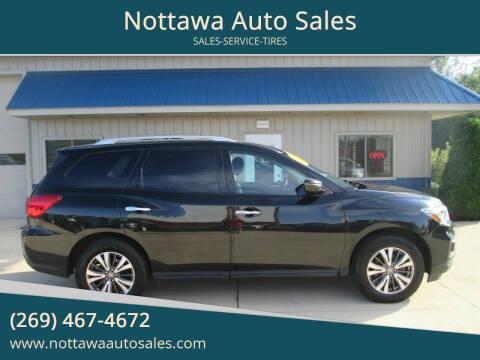 2017 Nissan Pathfinder for sale at Nottawa Auto Sales in Nottawa MI