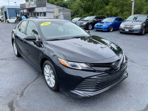 2018 Toyota Camry for sale at LexTown Motors in Lexington KY