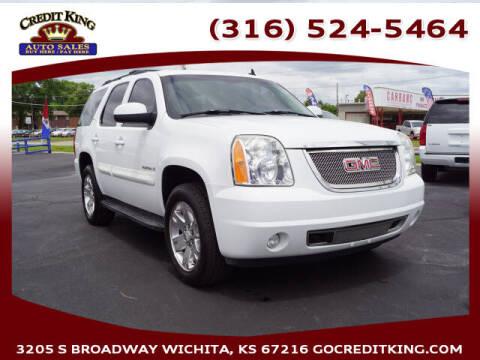 2008 GMC Yukon for sale at Credit King Auto Sales in Wichita KS