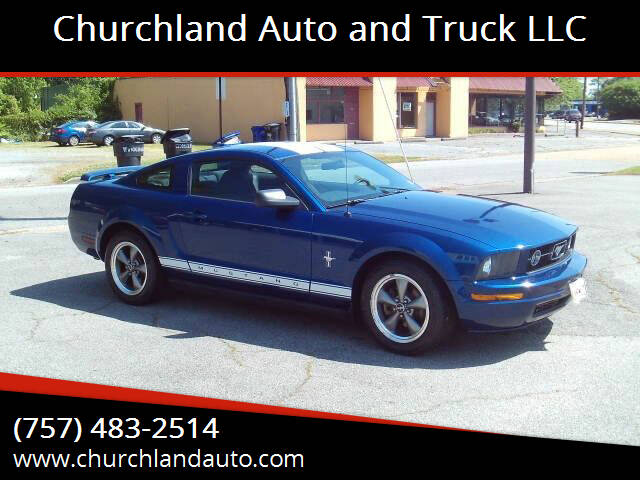 2006 Ford Mustang for sale at Churchland Auto and Truck LLC in Portsmouth VA
