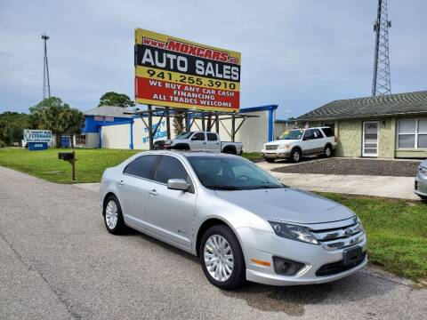 2012 Ford Fusion Hybrid for sale at Mox Motors in Port Charlotte FL