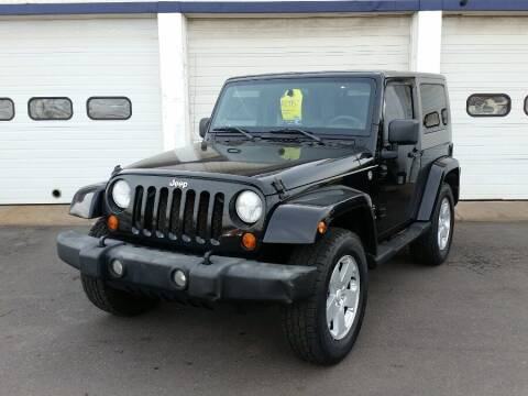 2007 Jeep Wrangler for sale at Action Automotive Inc in Berlin CT