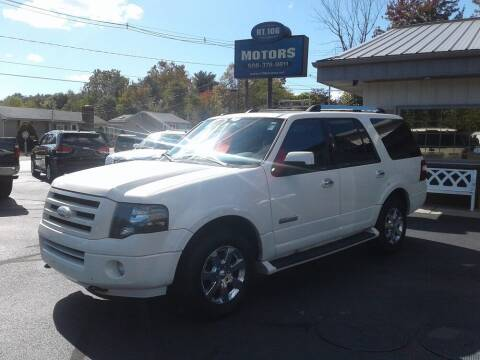 2007 Ford Expedition for sale at Route 106 Motors in East Bridgewater MA