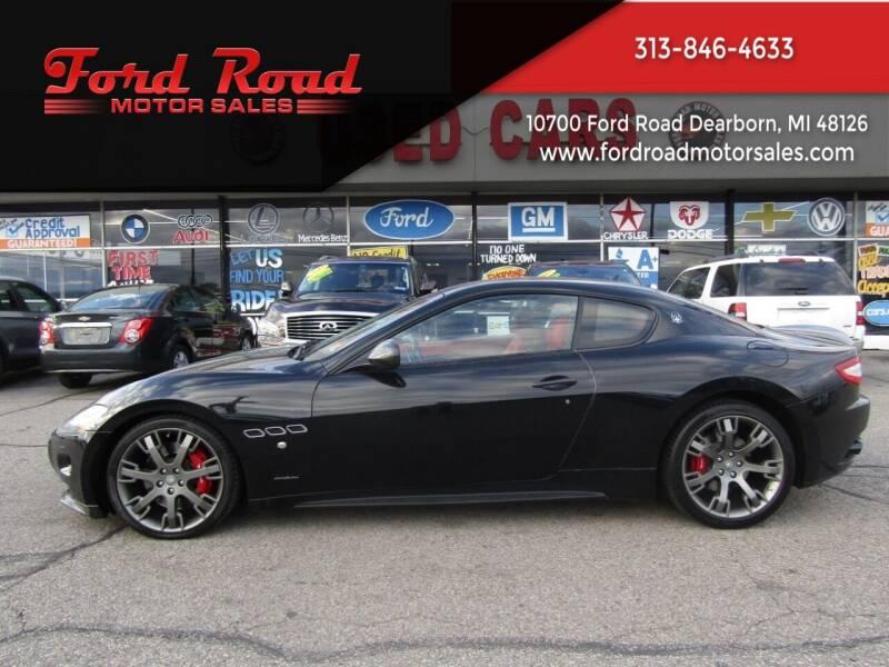 2010 Maserati GranTurismo for sale at Ford Road Motor Sales in Dearborn MI