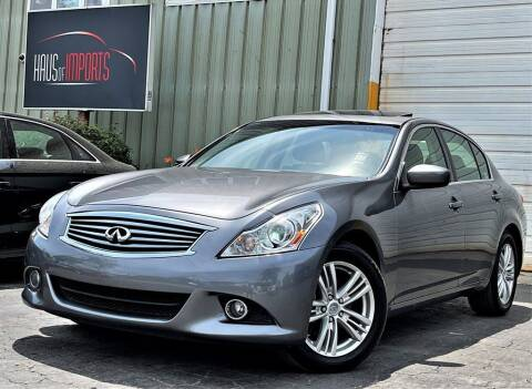 2012 Infiniti G37 Sedan for sale at Haus of Imports in Lemont IL