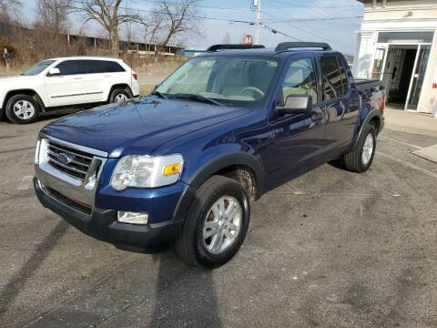 2008 Ford Explorer Sport Trac for sale at Rick's R & R Wholesale, LLC in Lancaster OH